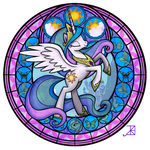 Celestia Stained Glass