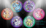 MLP:FiM Stained Glass Wallpaper