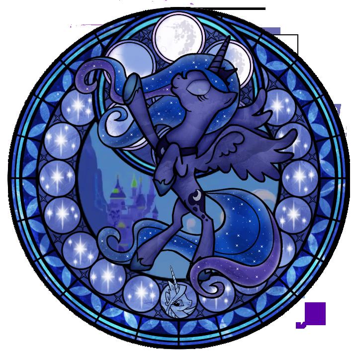 Luna Stained Glass Season 2 by Akili-Amethyst
