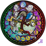 Commission: Discord Stained Glass