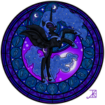 Stained Glass: Nightmare Moon