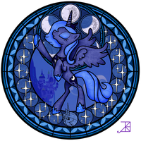 Stained Glass: Luna Season 1 -take 2- by Akili-Amethyst