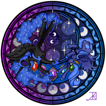 Stained Glass: The War Within by Akili-Amethyst