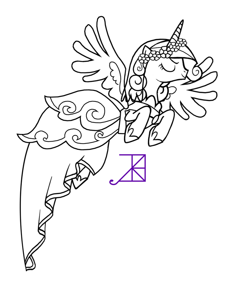 evil mlp coloring pages - photo#1