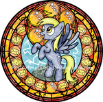 Stained Glass: Derpy Hooves