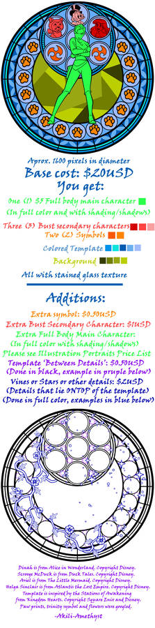 Stained Glass Price List -Sept 2012-