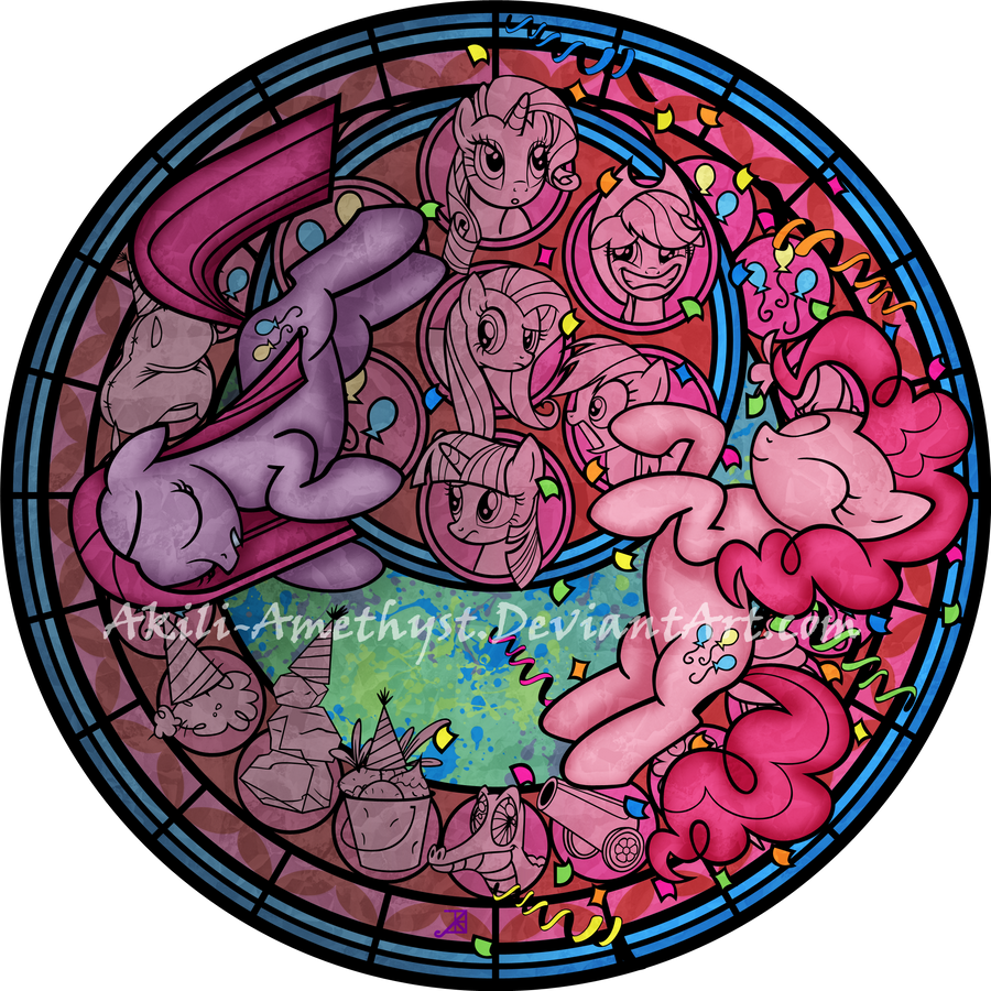 Stained Glass: Party of One