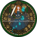 Stained Glass: Merida
