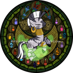 Stained Glass: Zecora