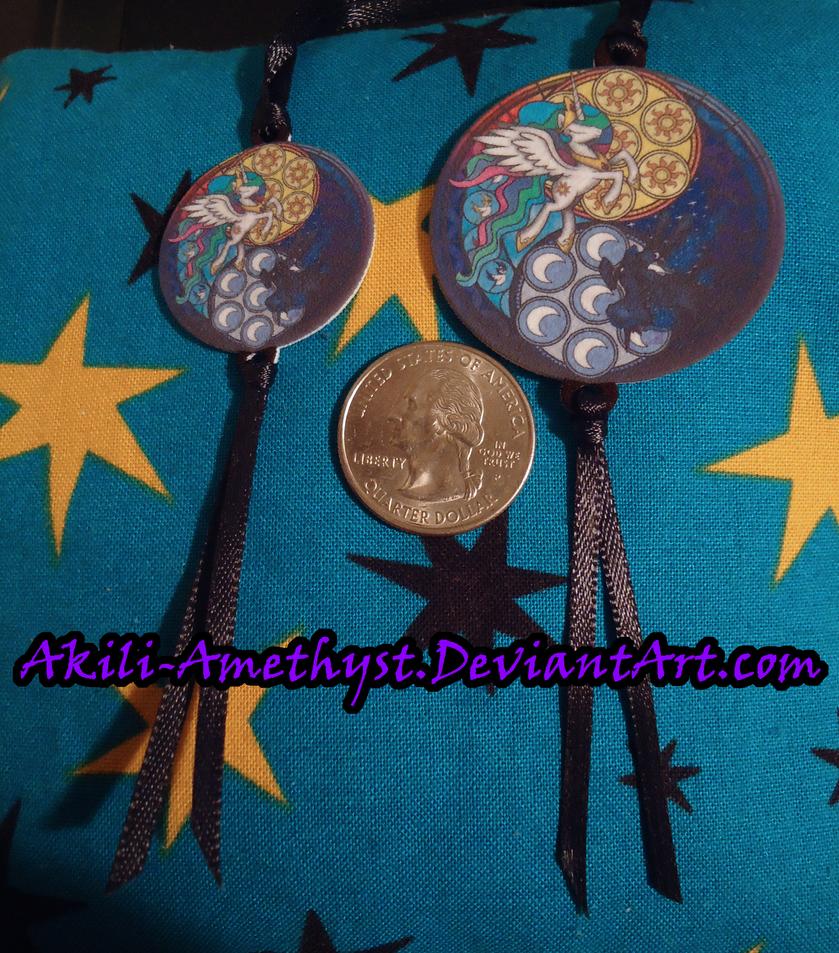 Necklace: Celestia-Luna SG by Akili-Amethyst