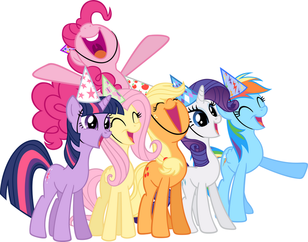 MLP SURPRIZE: All Six -vector- by Akili-Amethyst
