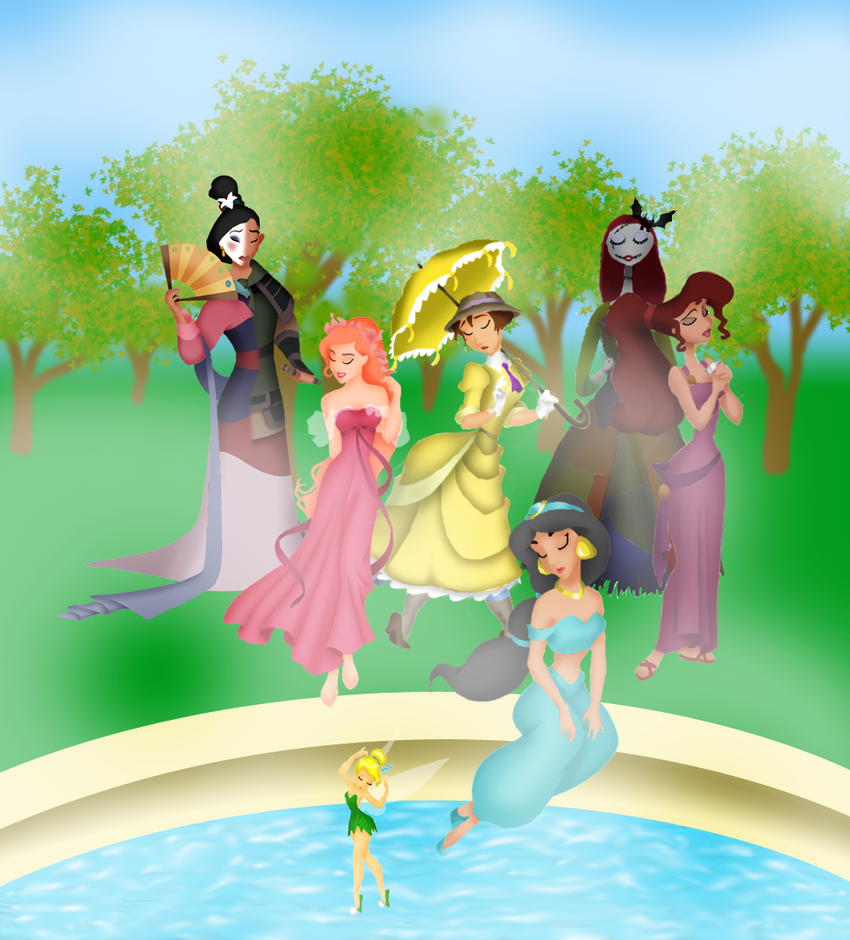 Princess Dreams 2 by Akili-Amethyst
