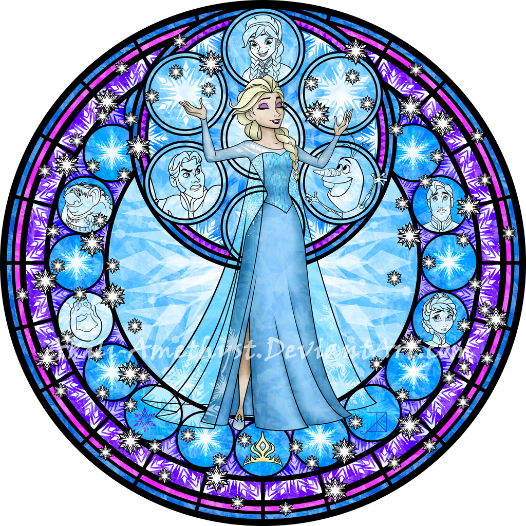 stained_glass__elsa__vector__by_akili_am