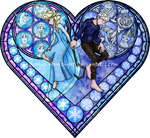 Stained Glass: Frosted Love