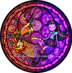 Stained Glass: Between Day and Night -Vector-