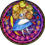Stained Glass: Alice -Redo- -Vector-