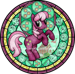 Commission: Stained Glass: Cheerilee -vector-