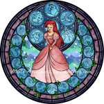 Ariel Stained Glass -remastered-