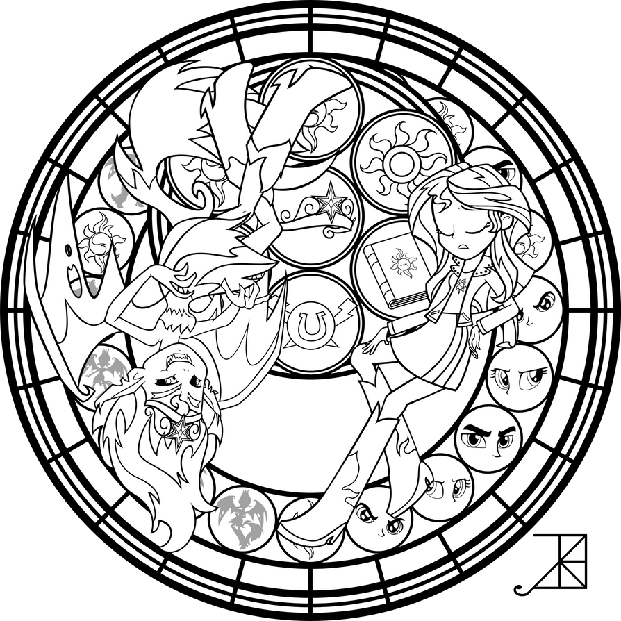 SG: Live This Down: Coloring Page by Akili-Amethyst on DeviantArt