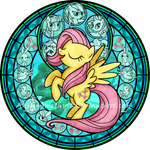 Stained Glass: Fluttershy -Remastered-