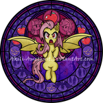 Stained Glass: Flutterbat