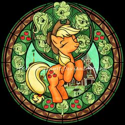 SG: Applejack -Remastered- by Akili-Amethyst