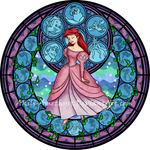 Stained Glass: Ariel
