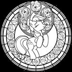 SG: Applejack: Remastered: coloring page