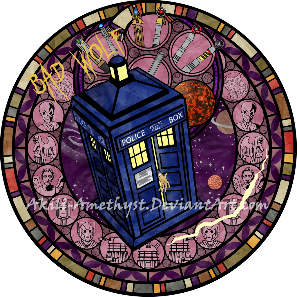 The United States of the Solar System, A.D. 2133 (Book Five) - Page 3 Stained_glass__doctor_who_by_akili_amethyst-d8knpk0