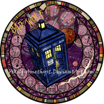 Stained Glass: Doctor Who