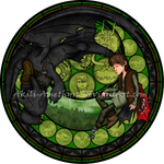 Stained Glass: Hiccup