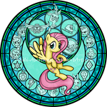 Commission: SG: KeepCalm and FlutterOn: Fluttershy