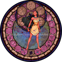 SG: Pocahontas -Redo- Vector by Akili-Amethyst