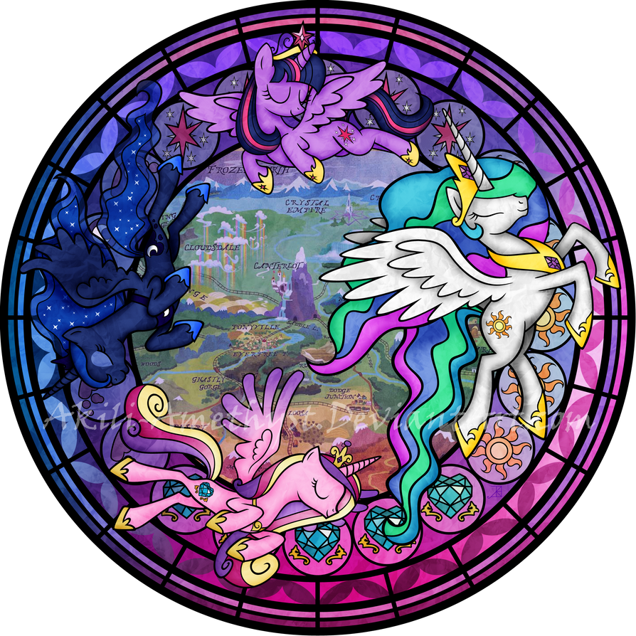 sg mlp princesses by akili amethyst on deviantart
