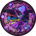 Stained Glass: Midnight Sparkle