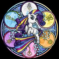 SG: Rainbow Friendship: Rarity by Akili-Amethyst