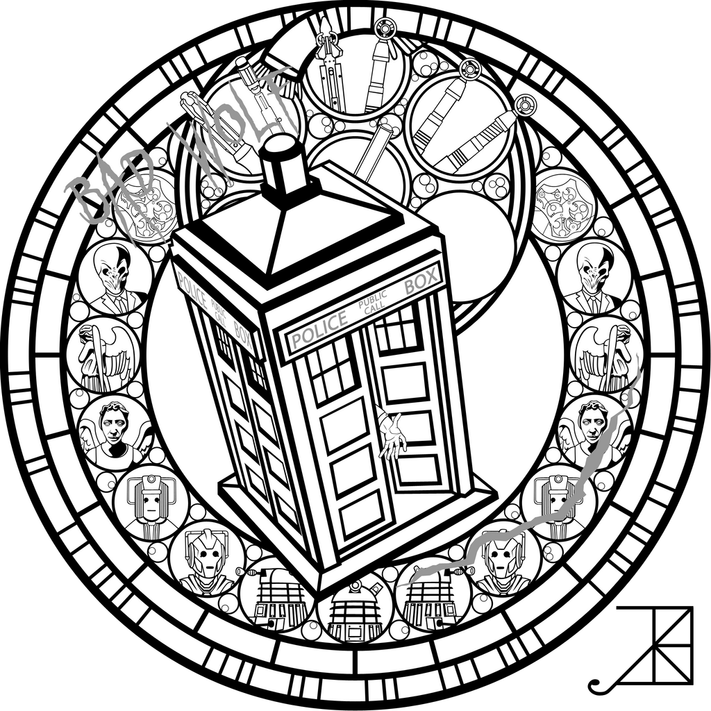 Line Drawing Of A Doctor : Doctor who sg line art by akili amethyst on deviantart
