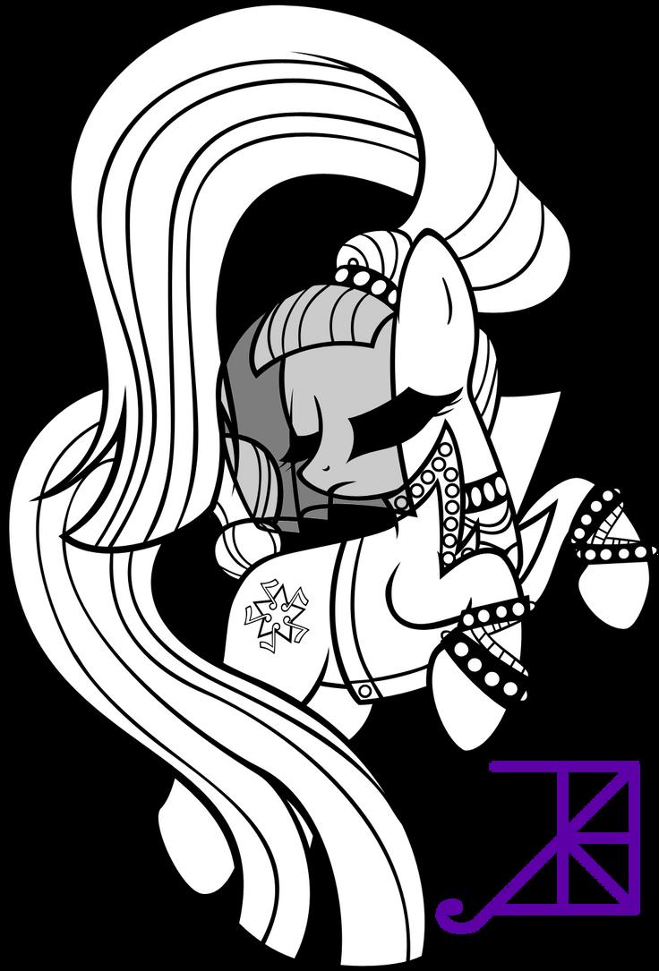 Countess Coloratura Line Art By Akili Amethyst On DeviantArt
