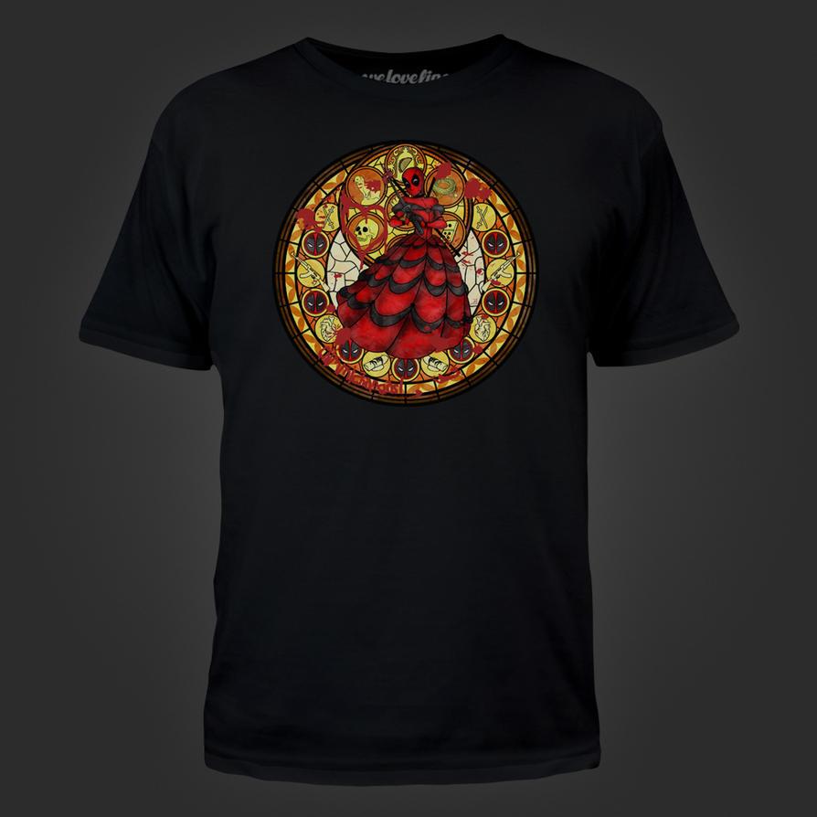 Deadpool Tshirt by Akili-Amethyst