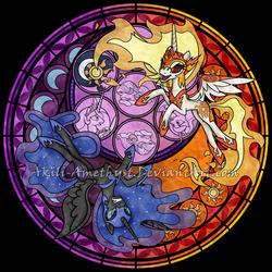 SG: Daybreaker - Nightmare Moon by Akili-Amethyst