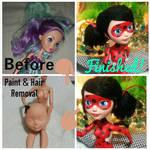 EAH Repaint Progression: Ladybug