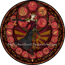 SG Recolor: Dark Zelda by Akili-Amethyst