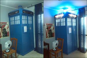 life size TARDIS Wardrobe by rossdev