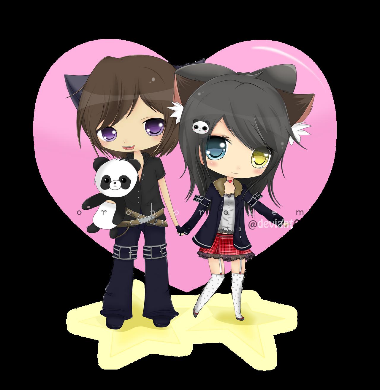 Cute Chibi Anime Couple | www.imgkid.com - The Image Kid ...