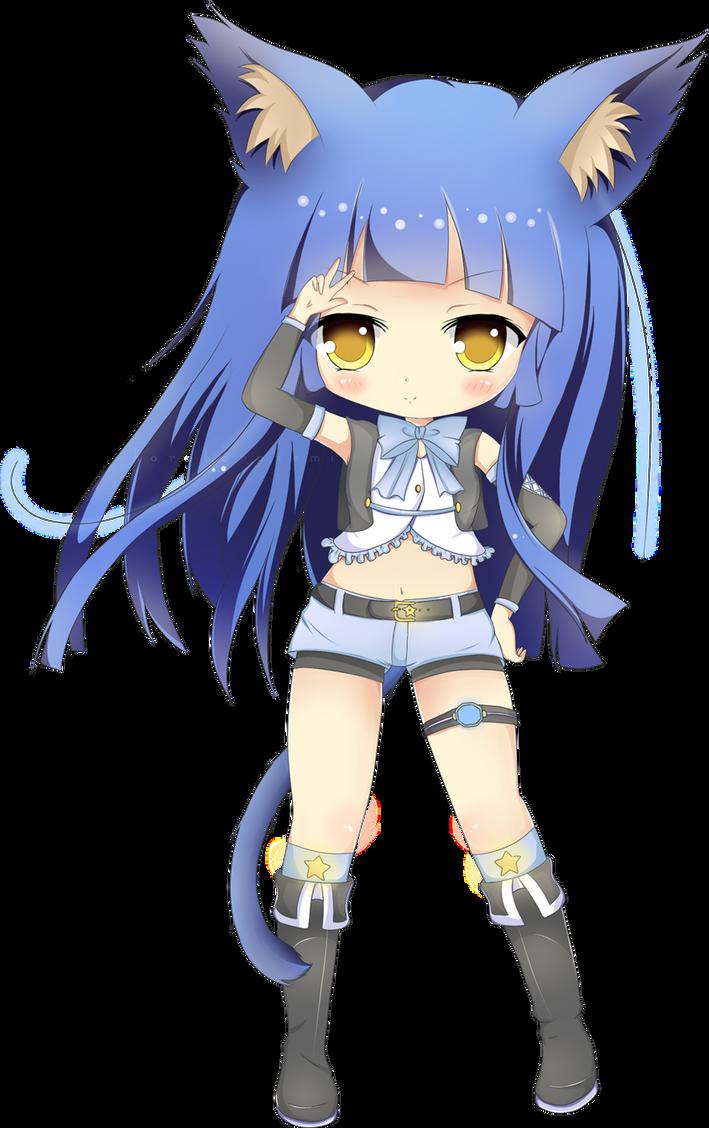 Chibi Tsuki By Minuet Melody On Deviantart