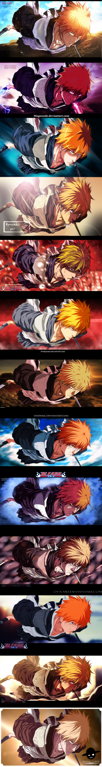 Bleach 585 Ichigo by Grimm6Jack