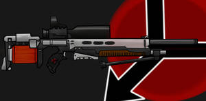 Helghast concept rifle