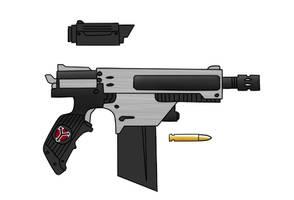 Helghast concept Pistol by VeXeDZERO