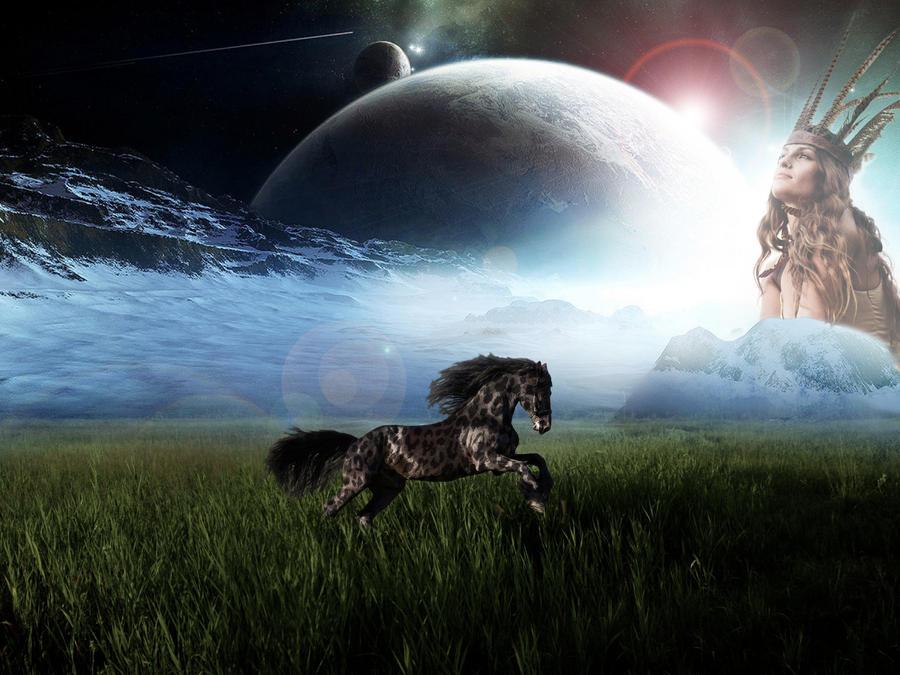 Fantasy horse spirit by michello1976 on deviantart fantasy horse spirit by michello1976 voltagebd Images