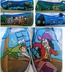 Peter Pan Shoes by YoSafBridge